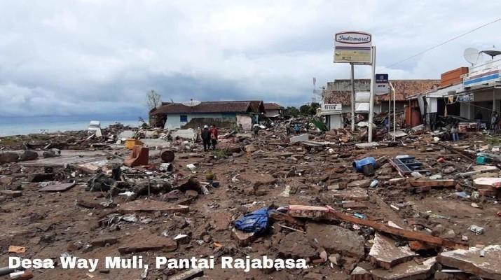 Seperti Banten, Lampung Juga Hancur Lebur Diterjang Tsunami
