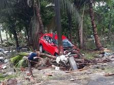 Saat Banten Luluh Lantak Usai Diterjang Tsunami
