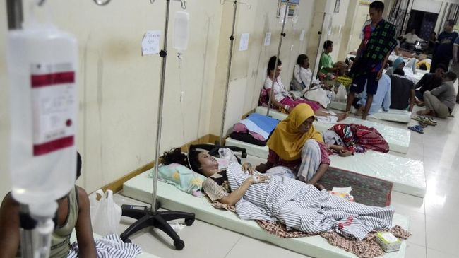 Rumah Bupati Lampung Selatan Dijadikan <i>Crisis Center</i>
