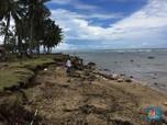 Zona Waspada Tsunami Turun ke Radius 500 M dari Pantai