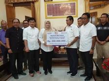 Bantu Korban Tsunami, BRI Salurkan Donasi Rp 300 Juta