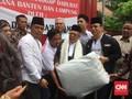 Ma'ruf Kirim 'Remaja' ke Area Tsunami, Prabowo Pasok Dokter