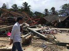 Tsunami Selat Sunda Telan 281 Jiwa, Ini Instruksi Jokowi