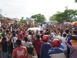 Di Kampung Jokowi, Sandi Uno Kritik Kebiasaan Utang dan Impor