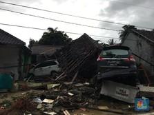 Tiba di Banten, Jokowi Cek Kondisi Usai Tsunami Selat Sunda