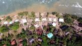 Pantai Carita menjadi salah satu kawasan pesisir Banten yang terdampak tsunami dari Selat Sunda pada malam 22 Desember 2018. (REUTERS/Jorge Silva)