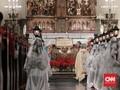 Gereja Katedral Selipkan Tema Bencana dalam Drama Misa Natal