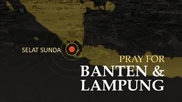 Belum genap tiga bulan Tsunami mengguncang Palu, Donggala, Sulawesi Tengah. Kini Selat Sunda dirundung duka.