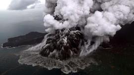 Material Longsor Krakatau Pemicu Tsunami Capai 80 Juta Ton