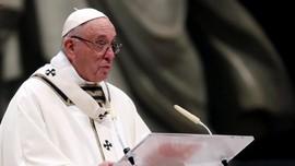 Paus Fransiskus Ubah Terjemahan Satu Kalimat Doa Bapa Kami