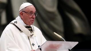 Paus Fransiskus Bersimpati ke Para Jurnalis yang Dibunuh