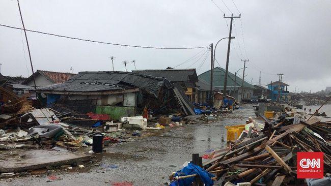 Tsunami Banten, 6 Desa di Pandeglang Belum Tersentuh Bantuan