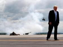 Trump Ngotot Bikin Tembok, PNS AS Cari Kerja Sampingan