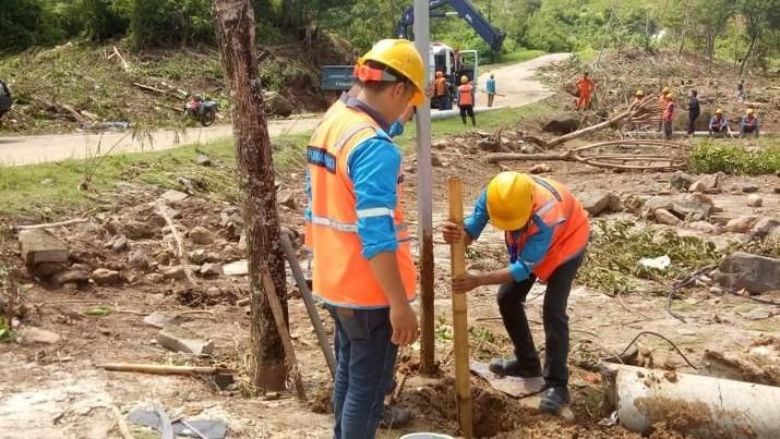 H+5 Tsunami Selat Sunda, Listrik Banten-Lampung Pulih 100%
