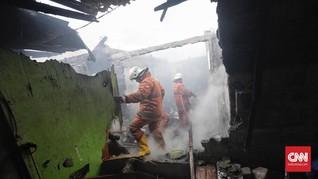 Kebakaran Mendominasi Kejadian Bencana di Jakarta pada 2018
