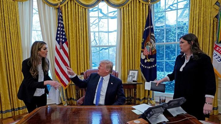 Trump & Kongres AS Akan Bertemu Bahas Penutupan Pemerintahan