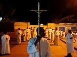 Kasus COVID-19 Turun, Gereja Nativity di Bethlehem Buka Lagi