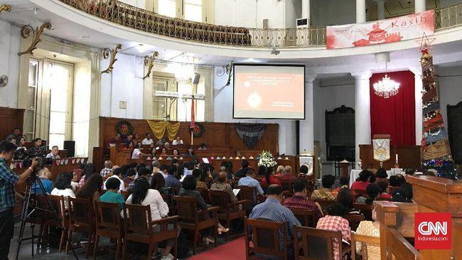 Gereja Immanuel Jakarta Usung Tema soal Pesta Demokrasi