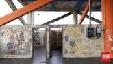 Bangunan tersebut awalnya merupakan Terminal Labuan yang kemudian berubah fungsi menjadi shelter tsunami.(CNN Indonesia/ Hesti Rika)