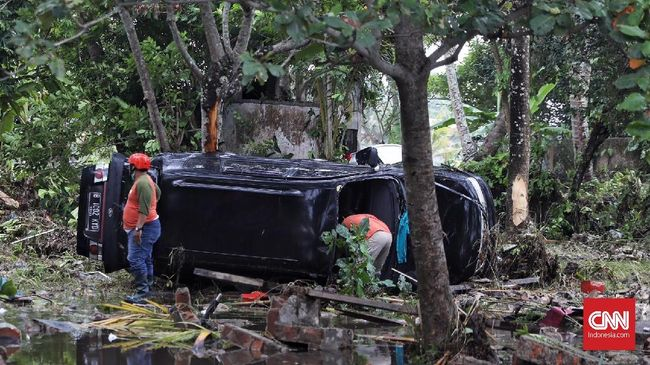 Korban Meninggal Tsunami Selat Sunda 430 Orang, 159 Hilang