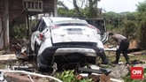Menurut Badan Nasional Penanggulangan Bencana (BNPB), hingga Rabu (26/12), korban meninggal mencapai 430 orang, 1.495 korban luka, dan 159 orang hilang. (CNN Indonesia/ Hesti Rika)