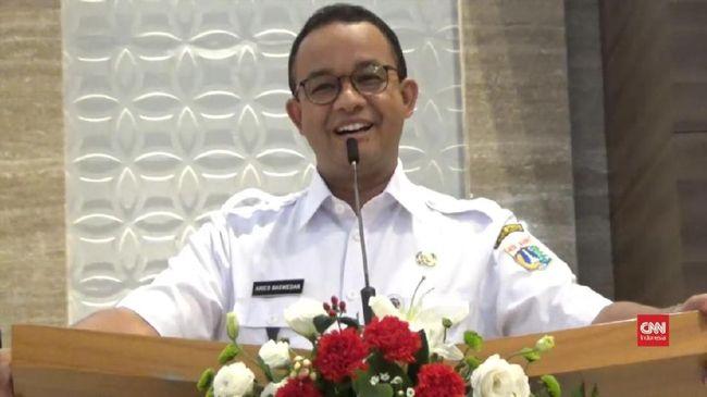 Koreksi Jokowi, Anies Sebut Kerugian Macet Rp100 Triliun