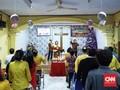 Suka Cita Natal di Tengah Duka Tsunami Selat Sunda