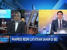 Phapros Resmi Tercatat di BEI