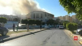 VIDEO: Kronologi Ledakan Bom di Kemenlu Libya
