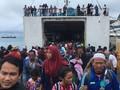 VIDEO: Evakuasi Warga Dua Pulau dekat Anak Krakatau