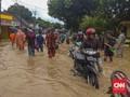 Usai Diterjang Tsunami, Labuan Banten Tergenang Banjir