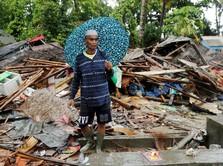 BNPB: 351 Ribu Orang Terdampak Tsunami Selat Sunda