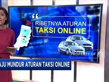 Maju Mundur Aturan Taksi Online