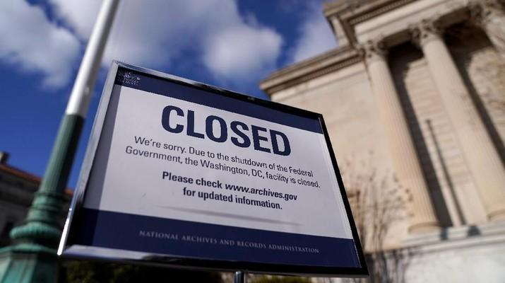 Duh, Penutupan Pemerintah Bisa Bikin Ekonomi AS Stagnan