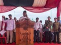 Disambut Salawat, Prabowo Doakan Korban Tsunami Aceh