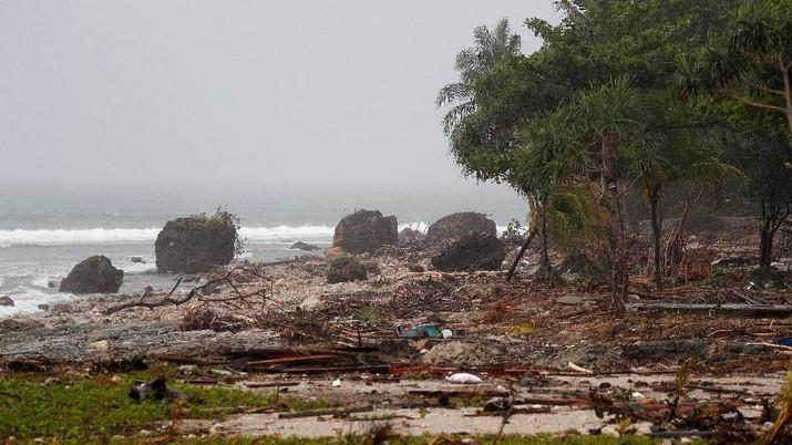 Ini Potret Wilayah Terparah Terdampak Tsunami Selat Sunda