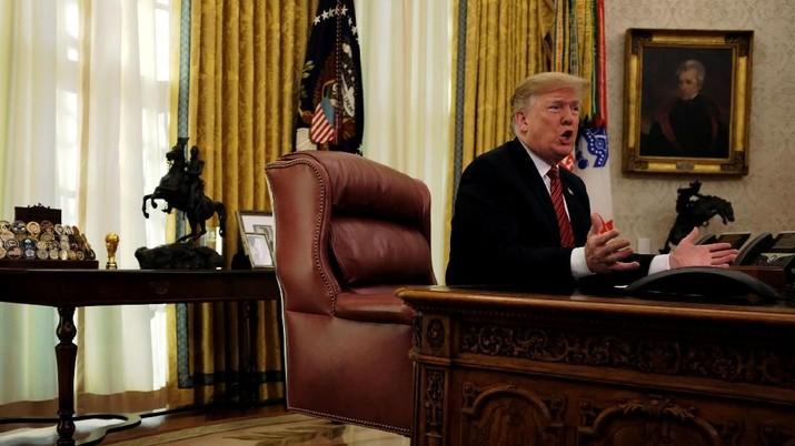 Pemerintahan Tutup, Warga AS: Ini Salah Trump