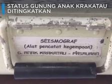 Video: Penampakan Kondisi Anak Krakatau Terkini, Status Siaga