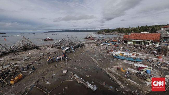Pemerintah Gandeng Asing Teliti Penyebab Tsunami Selat Sunda