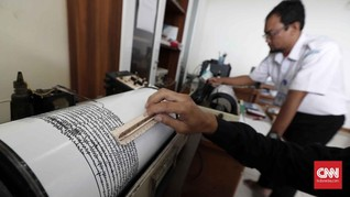 Gempa 5,5 SR Guncang Manokwari, Tak Ada Laporan Kerusakan