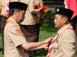 Jokowi, Buwas, dan Kisah Bos Gojek Jadi Penasihat Pramuka