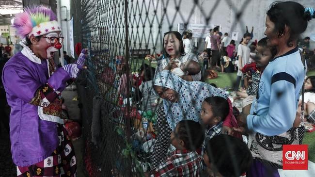 Pemulihan trauma untuk anak, kata Ratih, cenderung agak sulit sebab anak seringkali sulit bercerita perihal kecemasannya.(CNNIndonesia/Safir Makki)