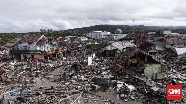 429 Korban Tsunami Selat Sunda Dimakamkan
