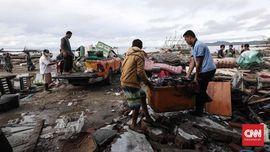 Korban Tewas Tsunami Selat Sunda Mayoritas Wisatawan