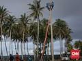 FOTO : Kecamatan Sumur Pascaterisolasi akibat Tsunami