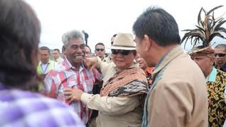 Reuni Prabowo dengan Eks Prajurit Timtim di Atambua