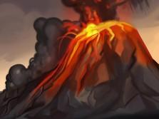 Setelah Meletus, Gunung Anak Krakatau Runtuh  228 Meter