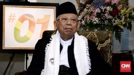 Di Depan Ma'ruf, Ulama Resah NU Jadi Fosil Jika Jokowi Kalah