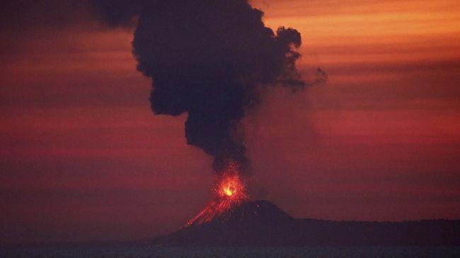 Belum Ada Tanda Letusan Anak Krakatau Akan Sedahsyat 1883
