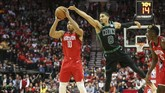Houston Rockets menjamu Boston Celtics di Toyota Center dalam lanjutan NBA musim ini. (REUTERS/Troy Taormina-USA TODAY Sports)